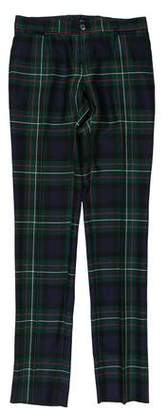 Dolce & Gabbana Plaid Wool Pants w/ Tags