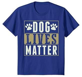 Dog Lives Matter T-Shirt for Dog Lovers Dog Moms and Dog Dad