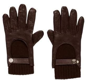 Gucci Leather Biker Gloves