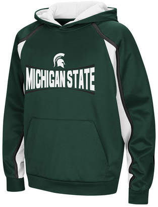 Colosseum Michigan State Spartans Poly Pullover Hoodie, Big Boys (8-20)