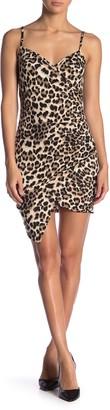 Blvd Leopard Print Bodycon Mini Dress