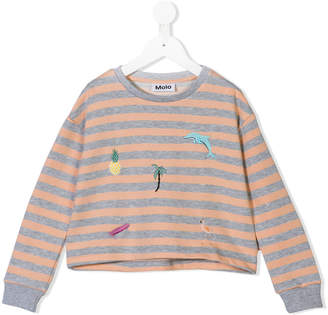 Molo striped sweatshirt