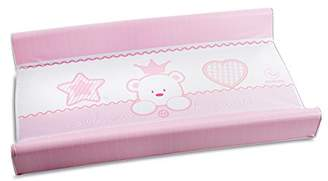 R & E Italbaby Baby Re 2 Sided Fantasy Changing Pad, Pink