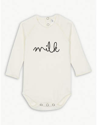 ORGANIC ZOO Milk organic cotton bodysuit 0-12 months