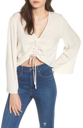 Leith Ruched Front Top