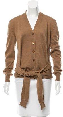 Jean Paul Gaultier Wool V-Neck Cardigan $145 thestylecure.com