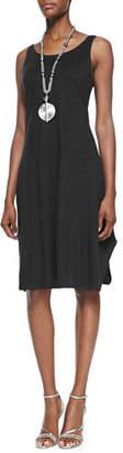 Eileen Fisher Scoop-Neck Sleeveless Knit Dress