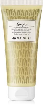 Origins Incredible SpreadableTM Smoothing Ginger body scrub