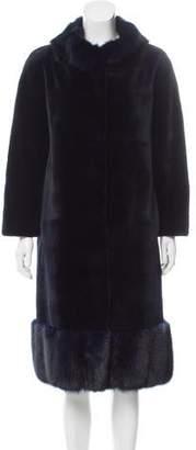 Oscar de la Renta Mink Fur Coat w/ Tags