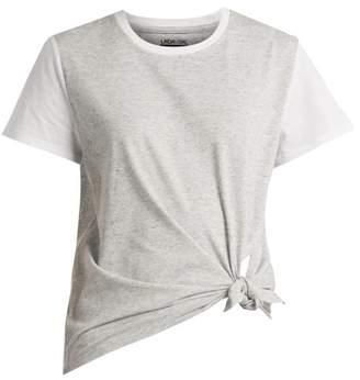 Lndr - Tuck Tee Tie Fastening T Shirt - Womens - Grey