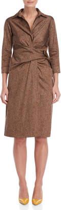 Samantha Sung Multi Tweed Print Sloan Dress