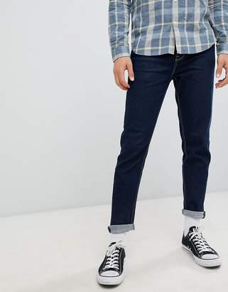 New Look tapered jeans with contrast stitching