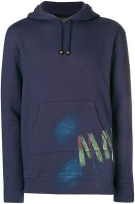Mr & Mrs Italy graffiti-print hoodie