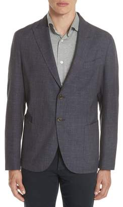 Eleventy Trim Fit Wool Blend Blazer
