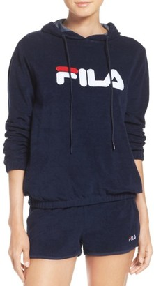 Women's Fila Franca Terry Hoodie $70 thestylecure.com