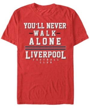 Liverpool Football Club Men's You'll Never Walk Alone Short Sleeve T-Shirt