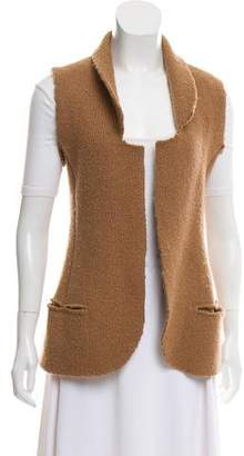 MM6 MAISON MARGIELA Open Front Wool Vest