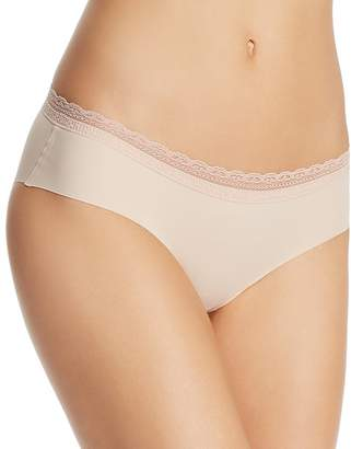 Naked Lace-Trim Seamless Hipster