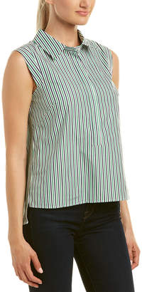 Milly Pleat Back Top
