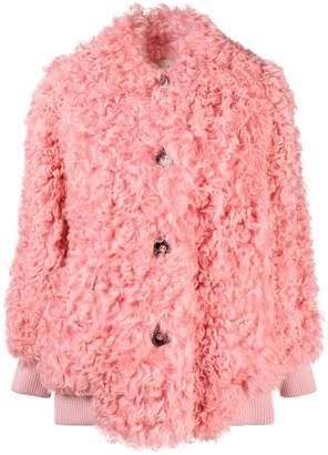 Miu Miu midi shearling coat