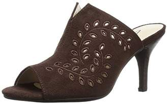 Annie Shoes Women's Lizzie Wide Calf Slide Sandal