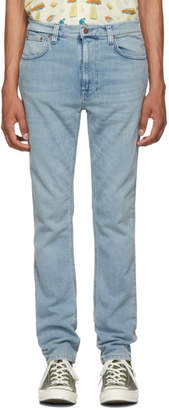 Nudie Jeans Indigo Broken Lean Dean Jeans