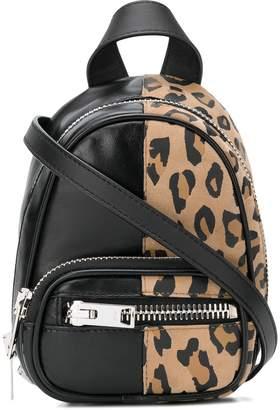 Alexander Wang mini leopard backpack
