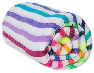 Women's Las Bayadas Stripe Cotton Blend Beach Blanket $45 thestylecure.com