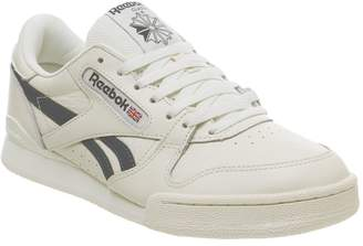 37b5919d3003 Reebok Phase 1 Pro Trainers Vintage Classic White Blue Hills