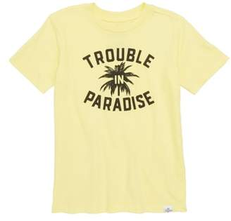 Kid Dangerous Trouble in Paradise Graphic T-Shirt