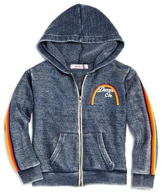 Play Six Girls' Vintage-Wash Fleece Dream On Hoodie - Little Kid