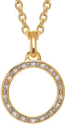 Lola Rose London - Curio Diamond Mini Loop Charm Necklace Gold