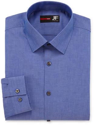 Jf J.Ferrar JF Slim Fit Long Sleeve Dress Shirt