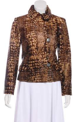 Cassin Structured Ponyhair Jacket