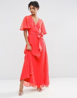 ASOS Pleated Maxi Dress $73 thestylecure.com