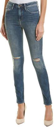 Mavi Jeans Lucy Dark Ripped Nolita High-Rise Super Skinny Leg