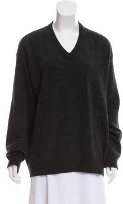 Valentino Wool V-Neck Sweater
