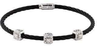 Charriol Diamond Classique 3 Station Bracelet