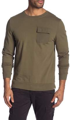 Sovereign Code Lugg Solid Chest Pocket Sweatshirt