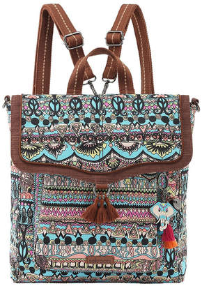 The Sak 108199AQUOW Artist Circle Flap Over Backpack