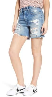 Levi's Indie Shredded Cutoff Denim Shorts (Let It Rip)