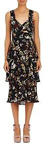 A.L.C. Women's Luna Floral Silk Sleeveless Dress Size 0