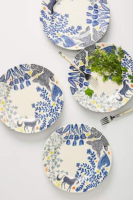 Anthropologie Saga Dinner Plates, Set of 4