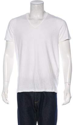 Tom Ford Solid Woven T-shirt