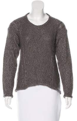 Helmut Lang Knit Scoop Neck Sweater