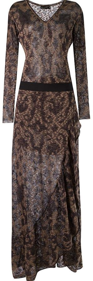 Cecilia Prado V-neck long knitted dress