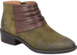 Comfortiva Leather Ankle Boots - Corliss
