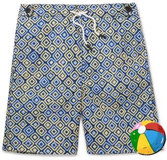 Frescobol Carioca - Boys Ages 2 - 8 Angra Printed Swim Shorts