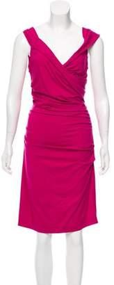 Diane von Furstenberg Bently Short Three Quarter Dress