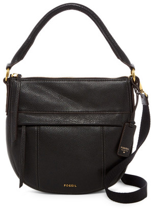 Fossil Molly Small Leather Hobo $198 thestylecure.com